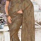 Indian Saree Bollywood Designer Bridal Wedding Sari Embroidery  - X 1262