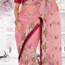 Indian Saree Bollywood Designer Bridal Wedding Sari Embroidery  - X 1254