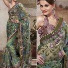 Designer Wedding Sari Bollywood Party Wear Sari - X724