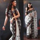 Indian Bollywood Designer Embroidered Sarees Sari - TF304