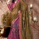Indian Designer Bridal Wedding Partywear Embroidery Saree Sari Bollywood - X2112