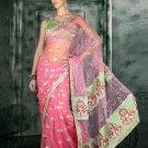 Indian Bollywood Designer Embroiderey Wedding Bridal Saree Sari - CH 1104