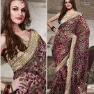 Designer Wedding Sari Bollywood Party Wear Sari - X721