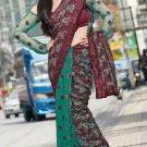 Indian Bollywood Designer Embroidered Saree Sari - X3018