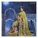 Georgette Designer Partywear Printed Sarees Sari With Blouse  - LPT 2026