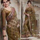 Designer Wedding Sari Bollywood Party Wear Sari - X726