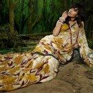 Indian Womens Clothing Saree Printed Saree Sari - X600