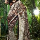 Indian Womens Clothing Saree Printed Saree Sari - X619