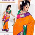Saris Sarees Indian Bollywood Designer Bridal Wedding Embroidered - TS 20011
