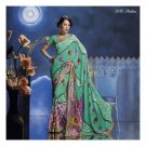 Georgette Designer Partywear Printed Sarees Sari With Blouse  - LPT 2030