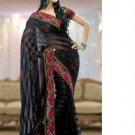Indian Bollywood Designer Embroidered Bridal Wedding Sarees Sari - RS1354