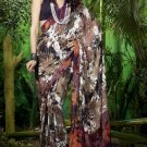 Indian Womens Clothing Saree Printed Saree Sari - X603