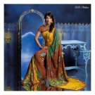 Georgette Designer Partywear Printed Sarees Sari With Blouse  - LPT 2020