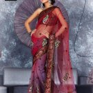 Indian Bollywood Designer Embroidery Saree Sari - TF 404