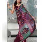 Indian Bollywood Designer Embroidery Saree Sari - TF 410