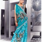 Indian Bollywood Designer Embroidery Saree Sari - TF 418