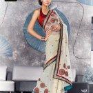 Indian Bollywood Designer Embroidery Saree Sari - TF 407