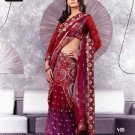 Indian Bollywood Designer Embroidery Saree Sari - TF 408