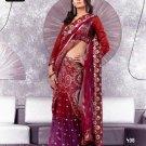 Indian Bollywood Designer Embroidery Saree Sari - TF 408