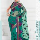 Saris Sarees Indian Bollywood Designer Bridal Wedding Embroidered - TS 20018