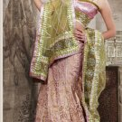 Designer Wedding Sari Bollywood Party Wear Sari - X702