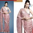 Embroiderd Bridal Wedding Designer Sarees Sari - X2271