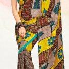 Faux Crape Sarees Sari Designer Printed Casual Fancy Saris - X 826