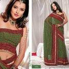 Saree Sari Indian / Pakistan Fancy Designer Embroidered - X1805