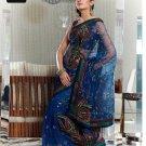Indian Bollywood Designer Embroidery Saree Sari - TF 414