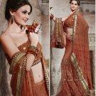 Designer Wedding Sari Bollywood Party Wear Sari - X722