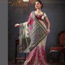 Indian Bollywood Designer Embroidered Sarees Sari - TF306