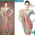 Embroiderd Bridal Wedding Designer Sarees Sari - X2265