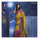 Georgette Designer Partywear Printed Sarees Sari With Blouse  - LPT 2036