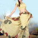 Indian Bollywood Designer Embroiderey Wedding Bridal Saree Sari - CH 1071