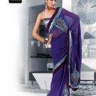 Indian Bollywood Designer Embroidery Saree Sari - TF 412