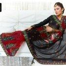 Indian Bollywood Designer Embroidery Saree Sari - TF 415