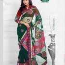 Net Brasso Wedding Designer Embroidered Indian Saree Sari With Blouse- TS 21015