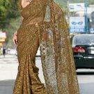 Indian Bollywood Designer Embroidered Saree Sari - X3013
