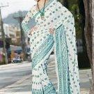 Indian Bollywood Designer Embroidered Saree Sari - X3022