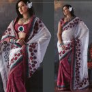 Indian Bollywood Designer Embroidered Sarees Sari - TF319