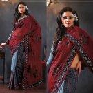 Indian Bollywood Designer Embroidered Sarees Sari - TF318