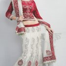Saree Bridal Faux Georgette Georgeous Embroidery Sari With Unstich Blouse-X805 N