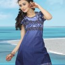 Indian Bollywood Cotton Partywear Kurti Kurta Tops - X 04