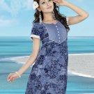 Indian Bollywood Cotton Partywear Kurti Kurta Tops - X 05 A