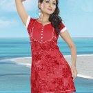 Indian Bollywood Cotton Partywear Kurti Kurta Tops - X 05 B