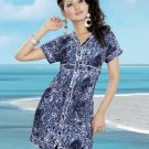 Indian Bollywood Cotton Partywear Kurti Kurta Tops - X 09 A