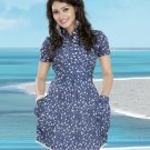 Indian Bollywood Cotton Partywear Kurti Kurta Tops - X 10 A