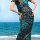 Partywear Faux Georgette Designer Exclusive Printed Saree With Blouse- NT 169a N