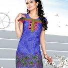 Indian Bollywood Cotton Partywear Kurti Kurta Tops - X 1019A