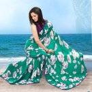 Partywear Faux Georgette Designer Exclusive Printed Saree With Blouse- NT 168b N